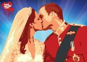 William Kate Kiss