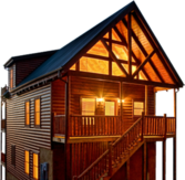 Wooden House PSD