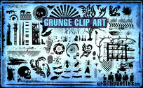 100 Vector Grunge Clipart