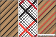 Striped Checked Pattern