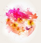 Abstract flower background1