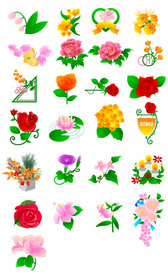 Peony Flowers, Roses, Tulips And Other Flowers