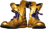 Omega Gold Boots PSD