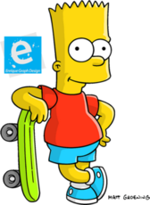 Bart Simpson PSD