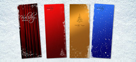 Natale Banner PSD Templates