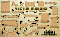 18 Free Vector Ribbons
