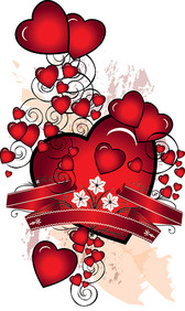 Heart-Shaped Vector Graphic-4