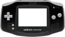 Gamboy Advance (with no screen) PSD