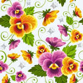beautiful flowers vector background0002