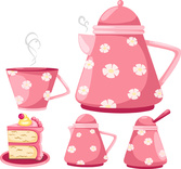 Lovely Cute kitchen tea design