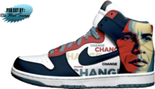 Obama Nike's - PSD Cut by Daillestswagg PSD