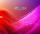 Abstract Red Purple Design Background