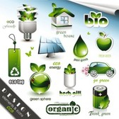Stock Ilustration Eco Elements#1