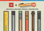 Woodclinched Pencil Illustrations