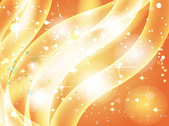 Wavy Stripes Golden Sparkling Background