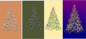 variations of an ornamental tree