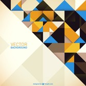 Abstract free geometric background