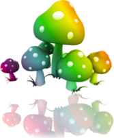 mushrooms PSD