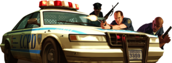 GTA 4 Cops PSD