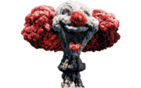 Clown Bomb Explosion PSD