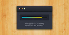 OSX Application Loading PSD