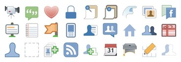 facebook style icon