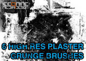Ice 9 High Res Plaster Grunge Brushes