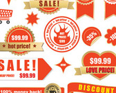 Sale Vector Label