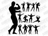 Fitness Person Action Silhouette