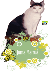 Juma Marruá with flowers