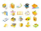 Book Series Icon Vector Graphic Of The Four
