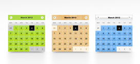 Calendrier PSD Templates