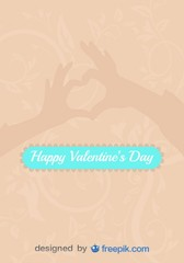 Love Sign Hands in Heart Shape