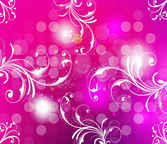 Pink Art background with swirls