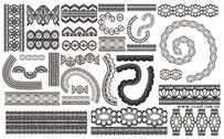 Grace Lace Pattern Vector Graphic-2