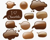 Stock Illustrations Chocolate Icons-Vector