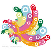 COLORFUL BUBBLES FREE VECTOR ART VP