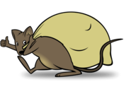 Delivery mouse