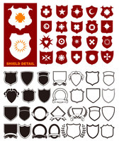 A Wide Variety Of Shield Shapes