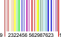 Colorful Barcode Graphics
