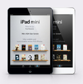 iPad Mini Psd Vector Mockup