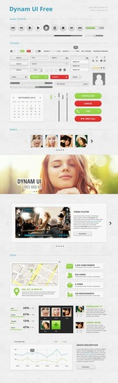 Dynam UI Free Incredibly User Interface Kit