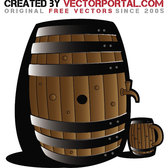 BARREL VECTOR IMAGE.eps