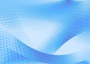 abstract wave of blue dots PSD