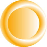 Orange Circular Button