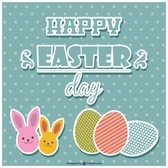 Easter graphic elements