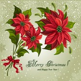 Flower Christmas vector | Download Free