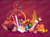 The Trend Of Cosmetic Products Subject Illustrator Vector Ma