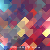 Arrowhead Abstract Colorful Oblique Rectangles Pattern