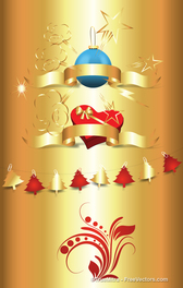 Golden Christmas Vectors